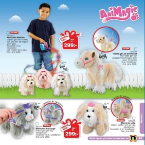 ... oder mit Spielzeughündchen Gassi gehen Quelle: Top-Toy-Katalog; Fotos: JF