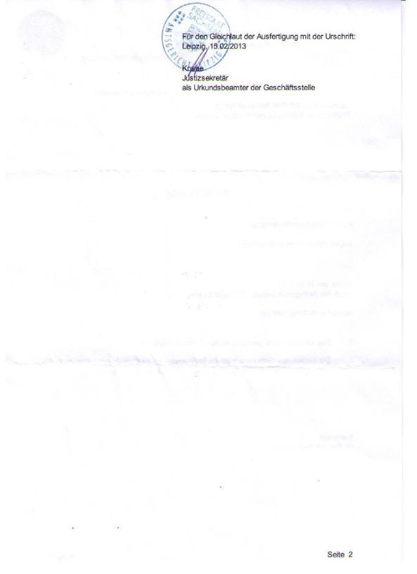 AG Beschluss 2