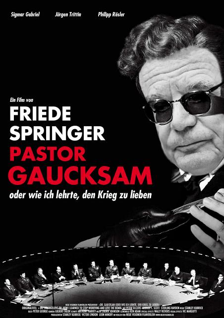 Fake Plakat Pastor Gaucksam