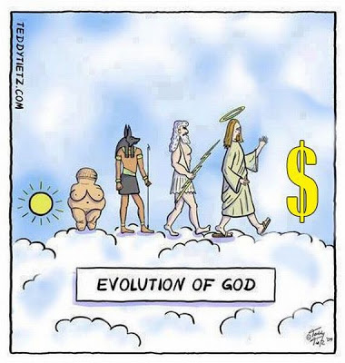 Die Evolution von Gott
