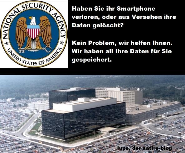 NSA dein Freund und Helfer