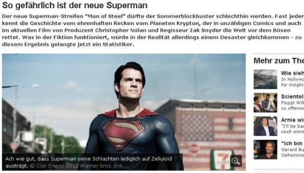 Supermann-Kacke