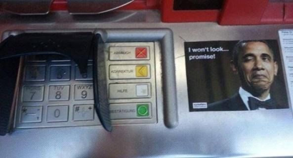 Neulich am Bankomat