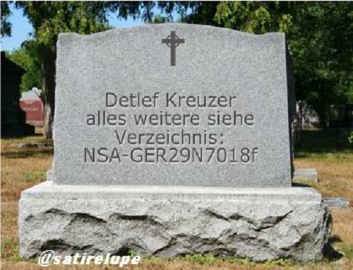 NSA-Grabstein