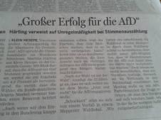 Osnabrücker Zeitung berichtet