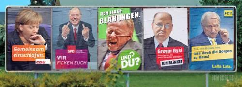 Wahlplakat-Loriot
