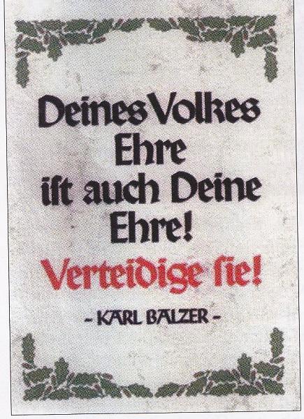 Deines-Volkes-Ehre