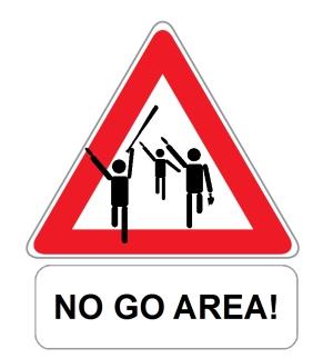 no-go-area