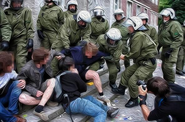 Demokratie-in-Oel-alles-wie-geschmiert-Polizeigewalt-Demo-Gewalt