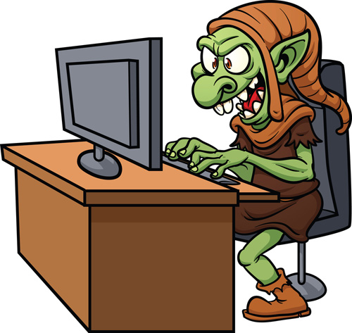 Bildergebnis für internet trolle