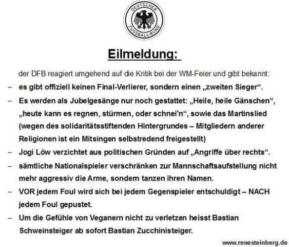 DFB-Entschuldigung