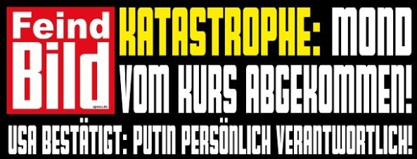 Feind-BIld-Putin-Ukraine-ist-schuld-Propaganda-Schlagzeile-qpress