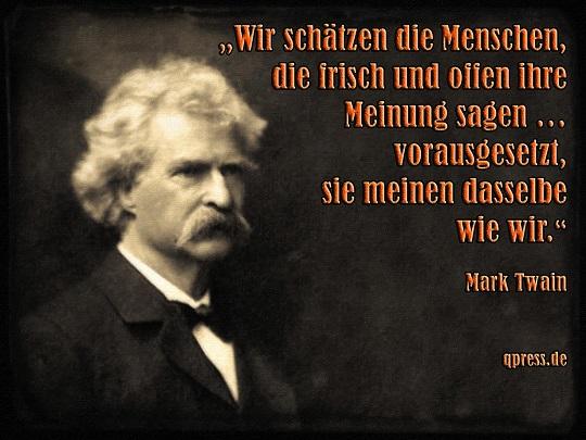 Mark-Twain-Meinungsfreiheit