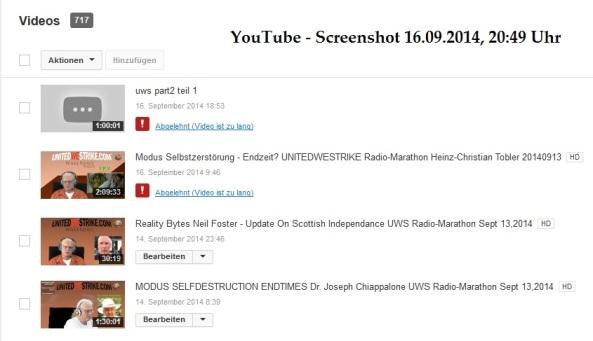 YouTube Screenshot 16.09.2014 20.49 Uhr