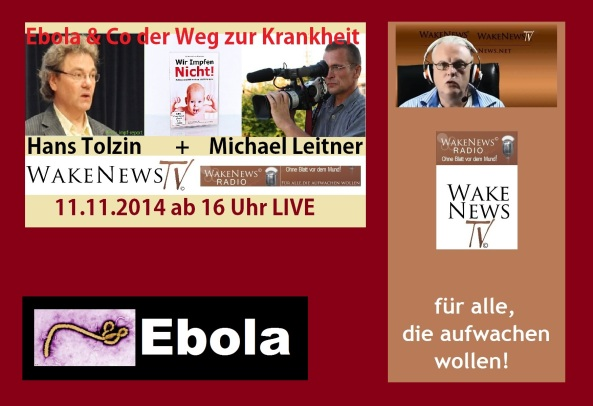 Interview Hans Tolzin und Michael Leitner bei Wake News 20141111