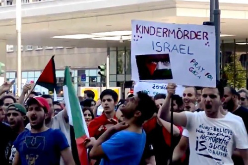 Kindermörder-Israel-Demo-Köln