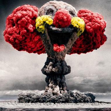 Atombombe-atompilz-clown-lustige-zerstoerung-vernichtung-wahnsinn-deutsche-atombombe-israel-atombombenbauer