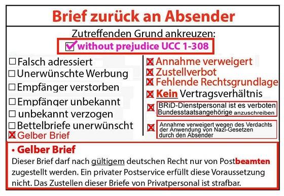 Deutsche Post Volksbetrugnet