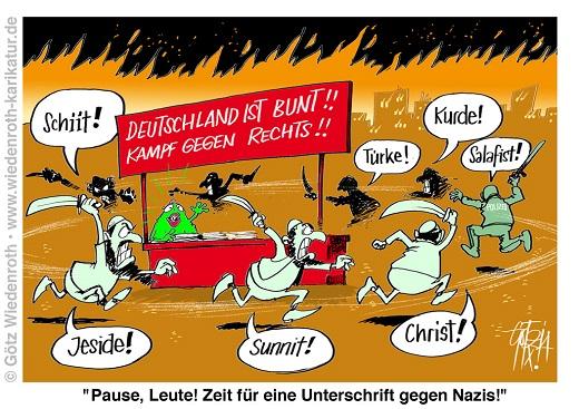 20141009_Immigration_Unruhen_Schlaegereien_Migranten_Polizei