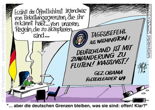 WK151002_Asyl_Immigration_Merkel_USA_Gehilfe