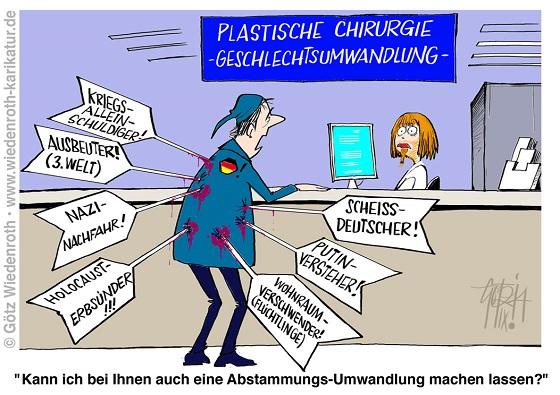 20140912_Deutschland_Schuldkult_Geschlechtsumwandlung_Abstammungsumwandlung