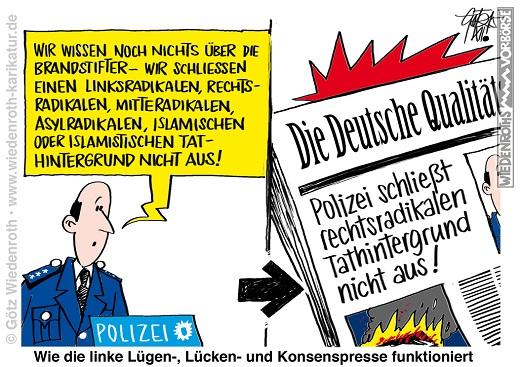 20151215_Brandstiftung_Asyl_Heim_Polizei_Luegenpresse