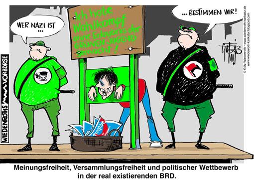 WK130814_AfD_Goettingen_Wahlkampf_Gruene_Antifa_Terror