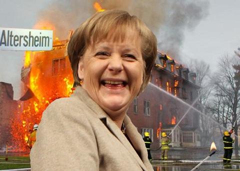 Merkel-Altersheim-Feuer