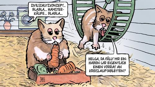 Bundesregierung will Hamsterkaeufe stark regulieren