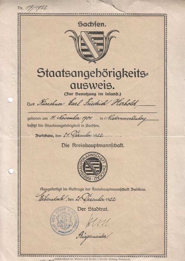 staatsangehoerigkeitsausweis_sachsen_kreishauptmannschaft_zwickkau_eibenstock_1922