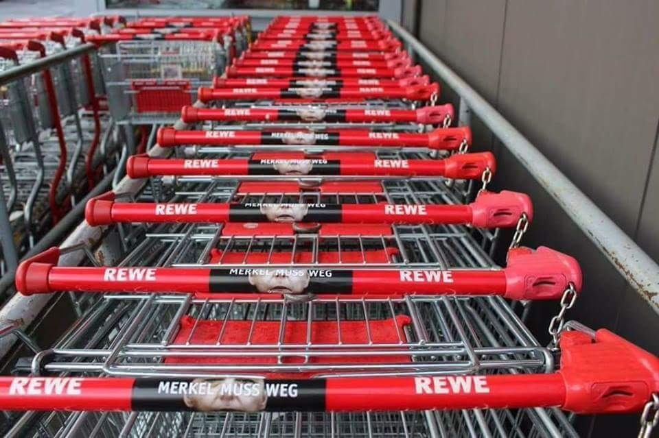 Rewe Einkaufswagen